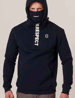 Hoodie NO RESPECT Summer21 Navy
