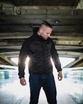 Full Face Softshell Jacket Rebel Black