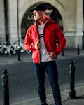 "Full Face Softshell Jacket ""Ghost"" Red"